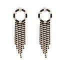 Alloy Fashion Tassel earring  yellow  Fashion Jewelry NHJJ5568yellow
