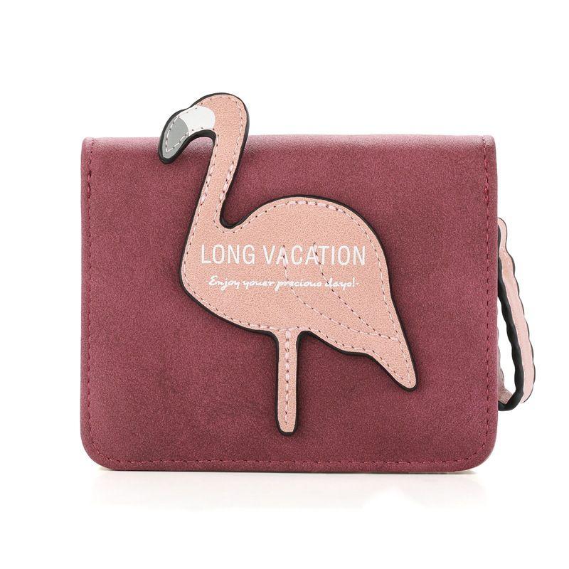 PU Korea  wallet  (red)  Fashion Bags NHHW0025-red