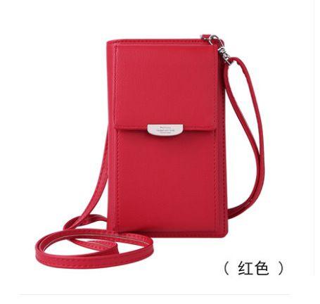 PU Fashion  Shoulder bag  (red)  Fashion Bags NHHW0024-red
