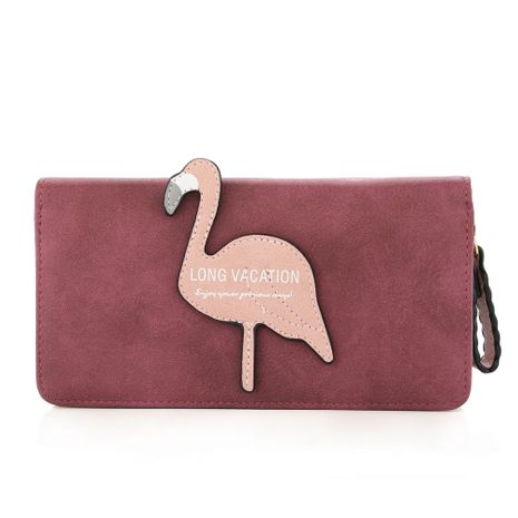 Portefeuille PU Corée (rouge) Fashion Bags NHHW0027-rouge's discount tags