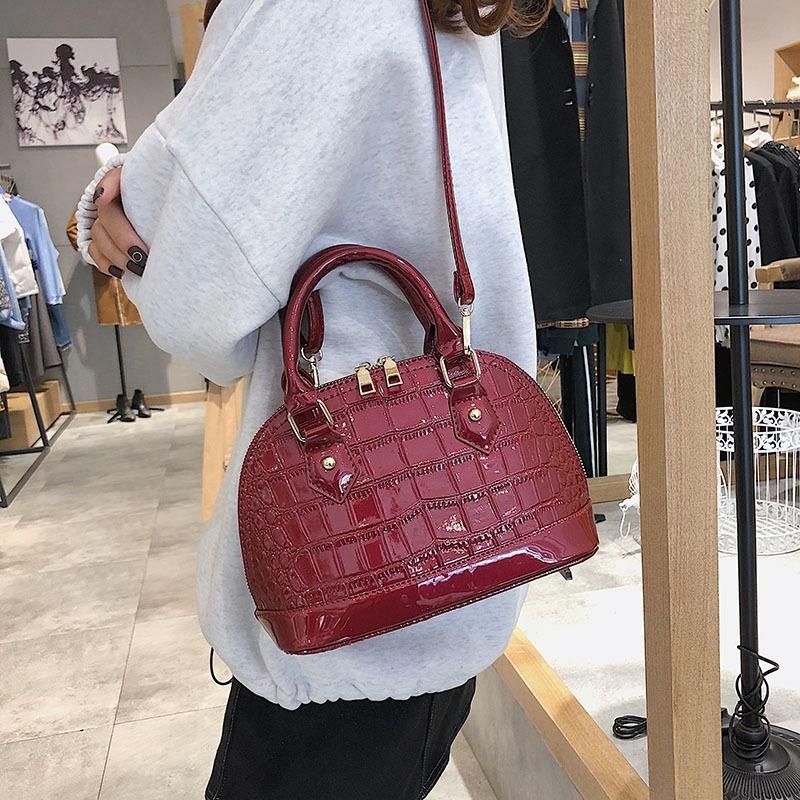 PU Fashion  Shoulder bag  (red)  Fashion Bags NHLD1578-red