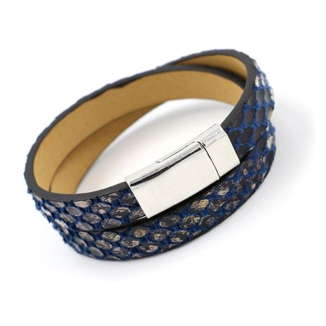 Leather Fashion Geometric bracelet  (B color)  Fashion Jewelry NHHM0012-B-color's discount tags