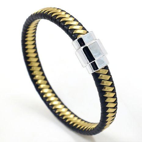 Leather Fashion bolso cesta bracelet  (A)  Fashion Jewelry NHHM0021-A's discount tags