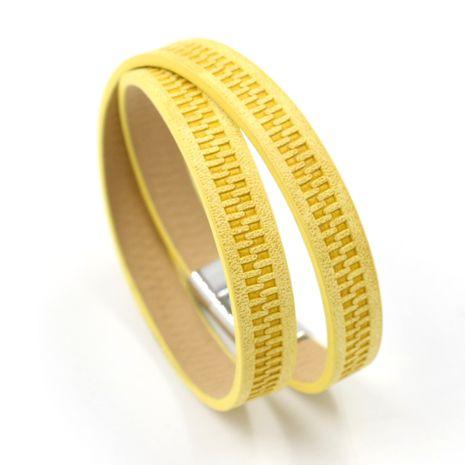 Leather Fashion Geometric bracelet  (A)  Fashion Jewelry NHHM0027-A's discount tags