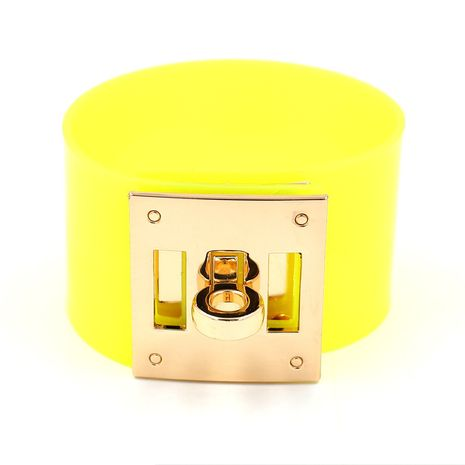 Cloth Fashion Geometric bracelet  (yellow)  Fashion Jewelry NHHM0032-yellow's discount tags