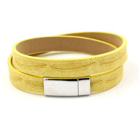 Leather Fashion Geometric bracelet  (A)  Fashion Jewelry NHHM0036-A's discount tags