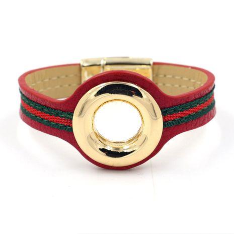 Cloth Fashion Geometric bracelet  (red)  Fashion Jewelry NHHM0037-red's discount tags