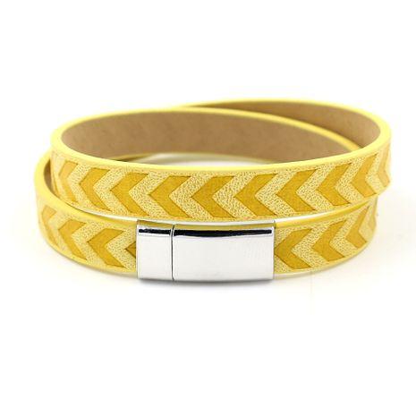 Leather Fashion Geometric bracelet  (A)  Fashion Jewelry NHHM0041-A's discount tags