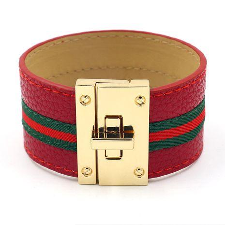 Cloth Fashion Geometric bracelet  (red)  Fashion Jewelry NHHM0048-red's discount tags
