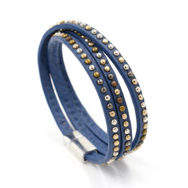Leather Fashion Geometric bracelet  (A)  Fashion Jewelry NHHM0049-A