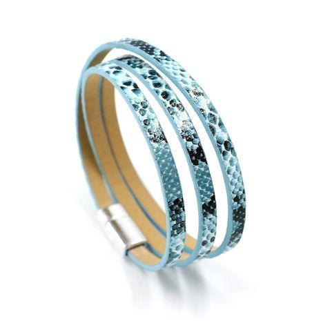 Leather Fashion Animal bracelet  (A)  Fashion Jewelry NHHM0051-A's discount tags