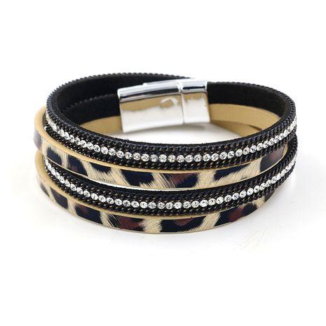Leather Fashion Geometric bracelet  (A)  Fashion Jewelry NHHM0057-A's discount tags