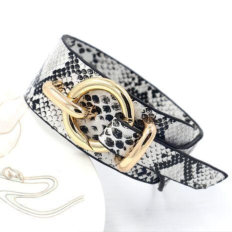 Leather Fashion Animal bracelet  (A)  Fashion Jewelry NHHM0059-A's discount tags