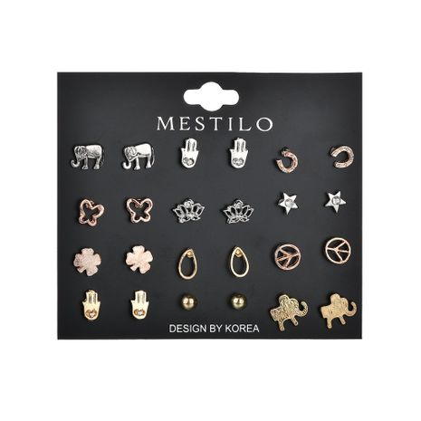 Alloy Fashion Animal earring  (Alloy and alloy)  Fashion Jewelry NHBQ1937-Alloy-and-alloy's discount tags