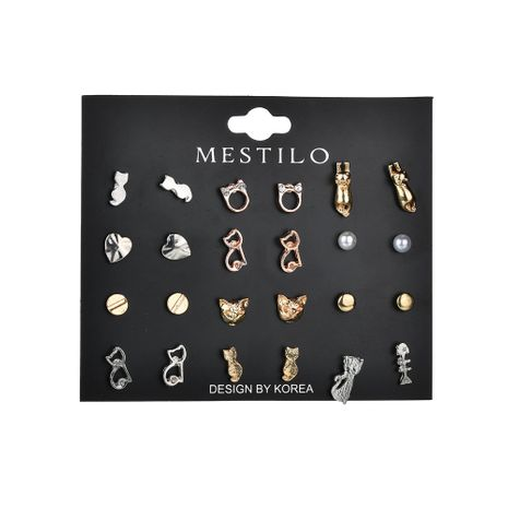 Alloy Fashion Animal earring  (Alloy and alloy)  Fashion Jewelry NHBQ1938-Alloy-and-alloy's discount tags