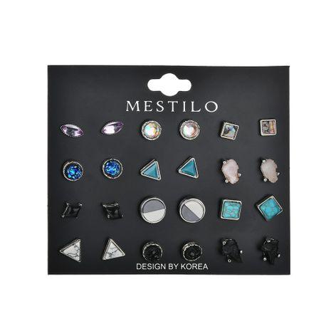 Alloy Fashion Geometric earring  (blue)  Fashion Jewelry NHBQ1939-blue's discount tags