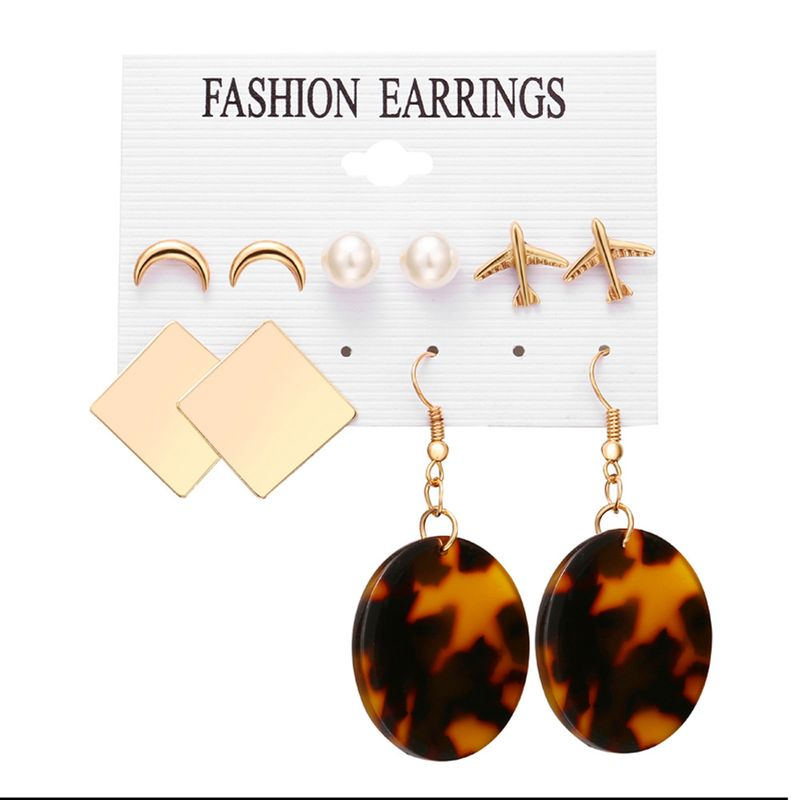 Alloy Fashion Geometric earring  GFM0502  Fashion Jewelry NHPJ0318GFM0502