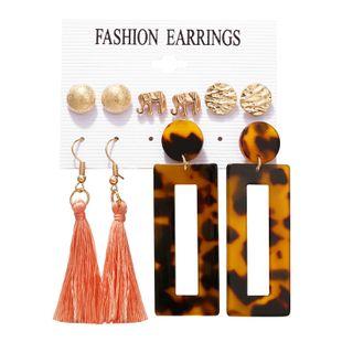 Alloy Fashion Tassel earring  (GFM05-04)  Fashion Jewelry NHPJ0319-GFM05-04's discount tags