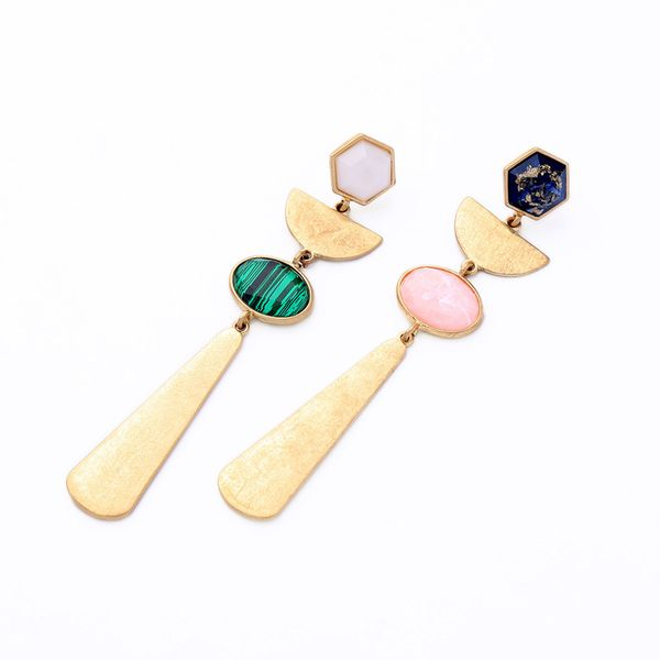 Alloy Fashion Geometric earring  (Photo Color)  Fashion Jewelry NHQD6313-Photo-Color