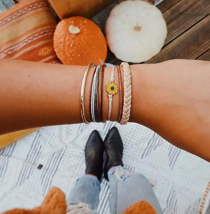 Alloy Simple Flowers bracelet  (4012)  Fashion Jewelry NHGY2970-4012