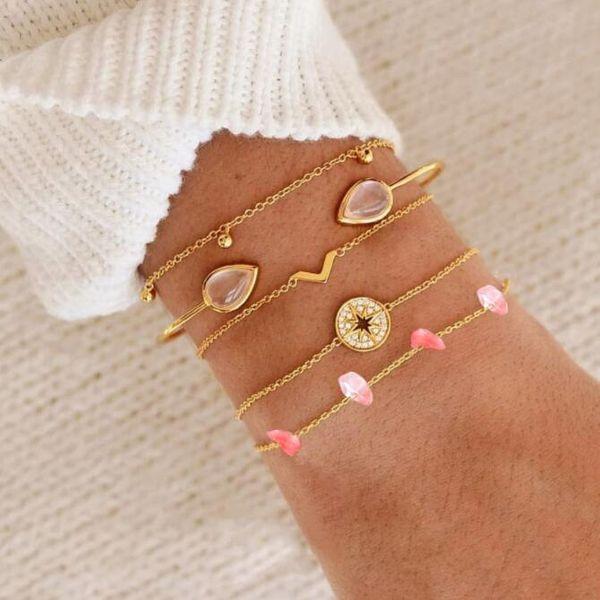 Alloy Simple  bracelet  (2461)  Fashion Jewelry NHGY2971-2461