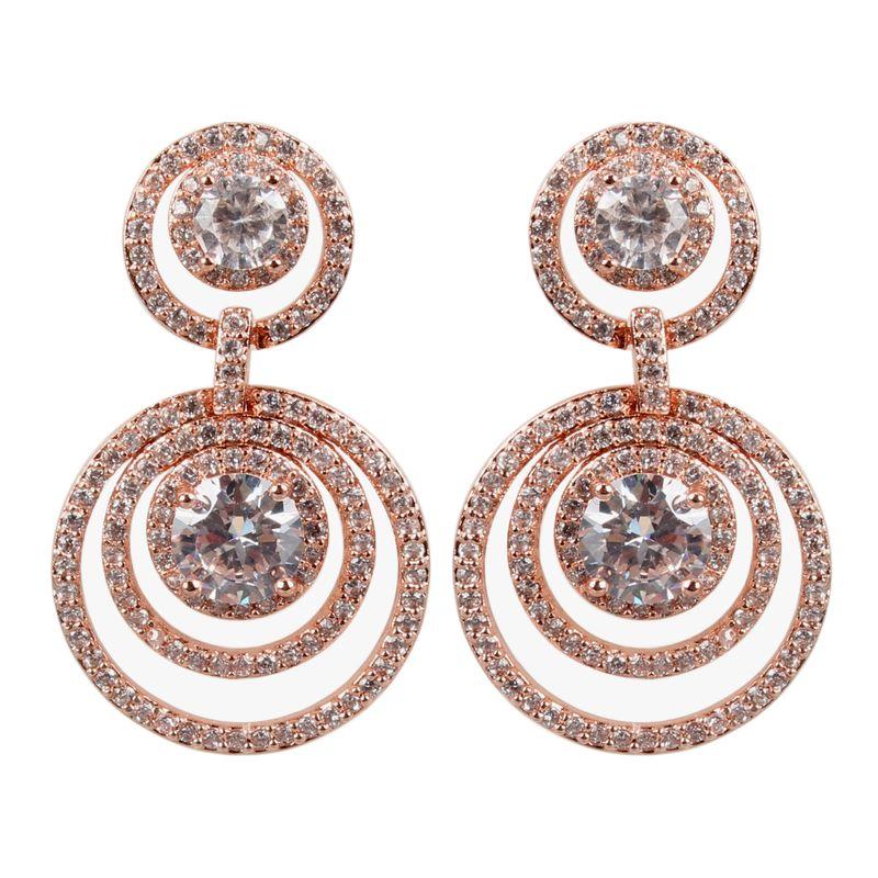 Copper Fashion Geometric earring  (Alloy)  Fine Jewelry NHCT0483-Alloy