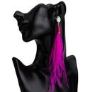 Alloy Fashion Tassel earring  yellow  Fashion Jewelry NHJE2665yellow
