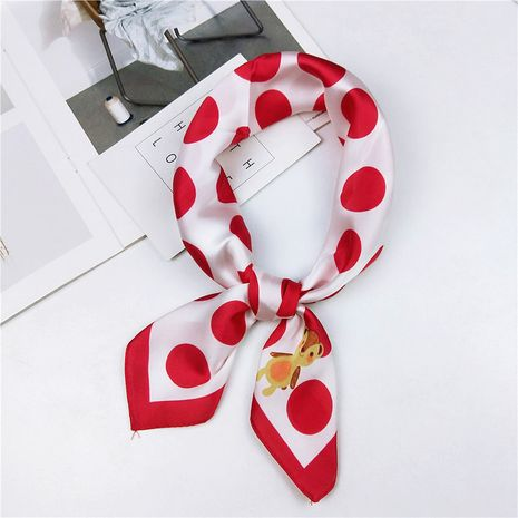 Alloy Korea  scarf  (1 butterfly wave red)  Scarves NHMN0364-1-butterfly-wave-red's discount tags