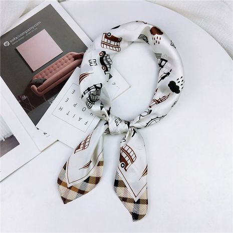 Alloy Korea  scarf  (1 Paris stamp white)  Scarves NHMN0367-1-Paris-stamp-white's discount tags
