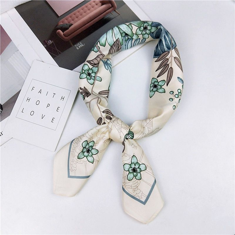Alloy Korea  scarf  (1 Jane flower apricot)  Scarves NHMN0369-1-Jane-flower-apricot