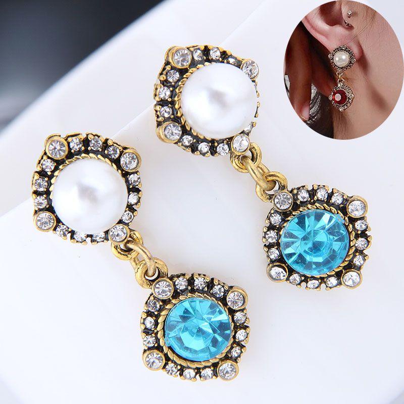 Alloy Fashion earring  NHNSC15332