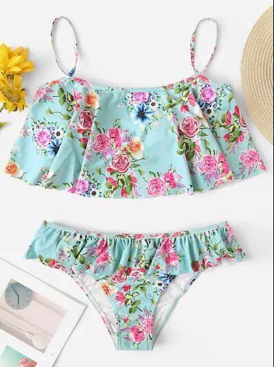 Cotton Fashion  Bikini  (Orchid-S)  Swimwear NHHL1223-Orchid-S