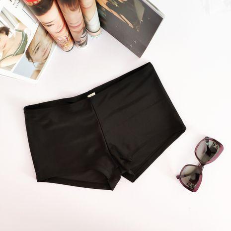 Pantalon Bikini Fashion Polyester (Noir-s) Maillots de bain NHHL1340-Noir-s's discount tags