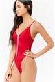 Cotton Fashion  Bikini  (132 red-S)  Swimwear NHHL1218-132-red-S