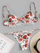 Cotton Fashion  Bikini  (Floral-S)  Swimwear NHHL1220-Floral-S
