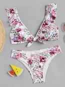 Polyester Fashion  Bikini  Picture colorS  Swimwear NHHL1221PicturecolorS