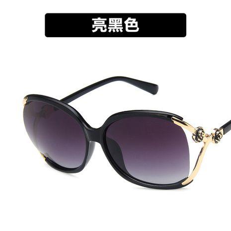 Plastic Fashion  glasses  (Bright black)  Fashion Accessories NHKD0716-Bright-black's discount tags