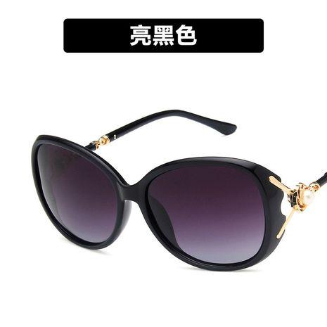 Plastic Fashion  glasses  (Bright black)  Fashion Accessories NHKD0717-Bright-black's discount tags
