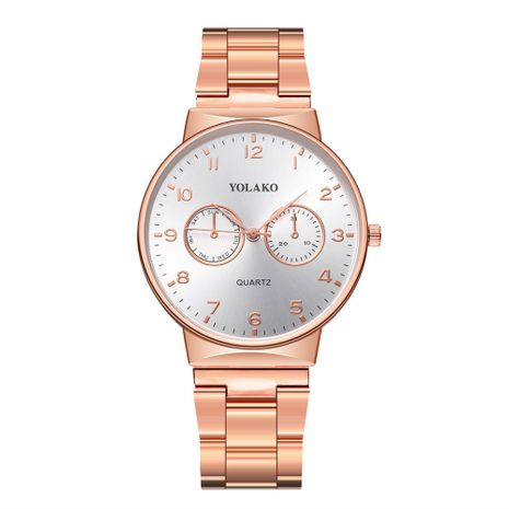Alloy Fashion  Men watch  (Rose alloy)  Fashion Watches NHSY1912-Rose-alloy's discount tags