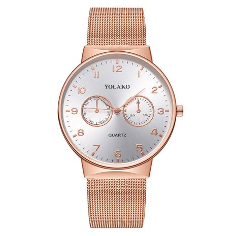 Alloy Fashion  Men watch  (Rose alloy)  Fashion Watches NHSY1922-Rose-alloy's discount tags