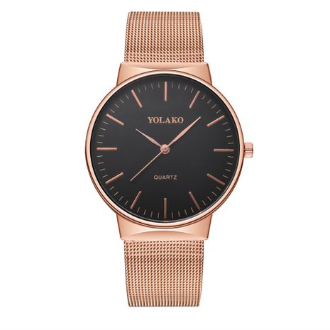 Alloy Fashion  Men watch  (Rose alloy)  Fashion Watches NHSY1923-Rose-alloy's discount tags