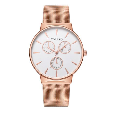 Alloy Fashion  Men watch  (Rose alloy)  Fashion Watches NHSY1932-Rose-alloy's discount tags