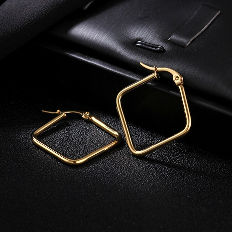 Titanium&Stainless Steel Fashion Geometric earring  (Alloy)  Fine Jewelry NHIM1734-Alloy's discount tags