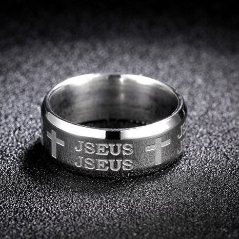 Titanium&Stainless Steel Fashion  Ring  (Steel color-7)  Fine Jewelry NHIM1744-Steel-color-7's discount tags