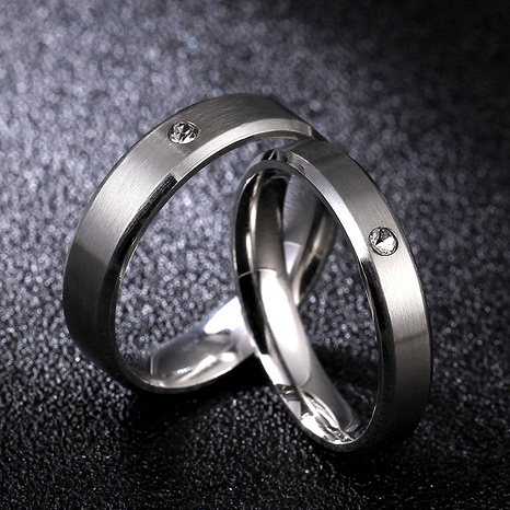 Titanium&Stainless Steel Fashion  Ring  (Hong Kong code 3mm female section - 6)  Fine Jewelry NHIM1746-Hong-Kong-code-3mm-female-section-6's discount tags