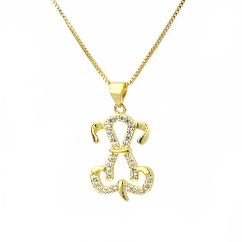 Copper Fashion Animal necklace  Alloy plating  Fine Jewelry NHBP0364Alloyplating