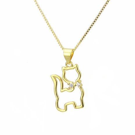 Copper Fashion Animal necklace  (Alloy plating)  Fine Jewelry NHBP0370-Alloy-plating's discount tags