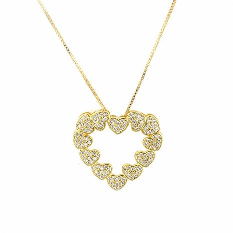 Copper Fashion Sweetheart necklace  (Alloy plating)  Fine Jewelry NHBP0373-Alloy-plating's discount tags