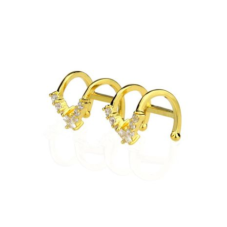 Copper Simple Geometric earring  (Alloy plating)  Fine Jewelry NHBP0390-Alloy-plating's discount tags