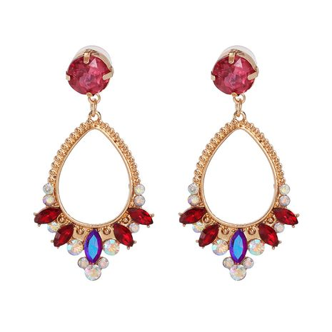 Alloy Fashion Geometric earring  (red)  Fashion Jewelry NHJJ5612-red's discount tags